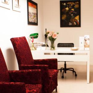Wartezimmer bei Psychologin Dr. Karin Schiner